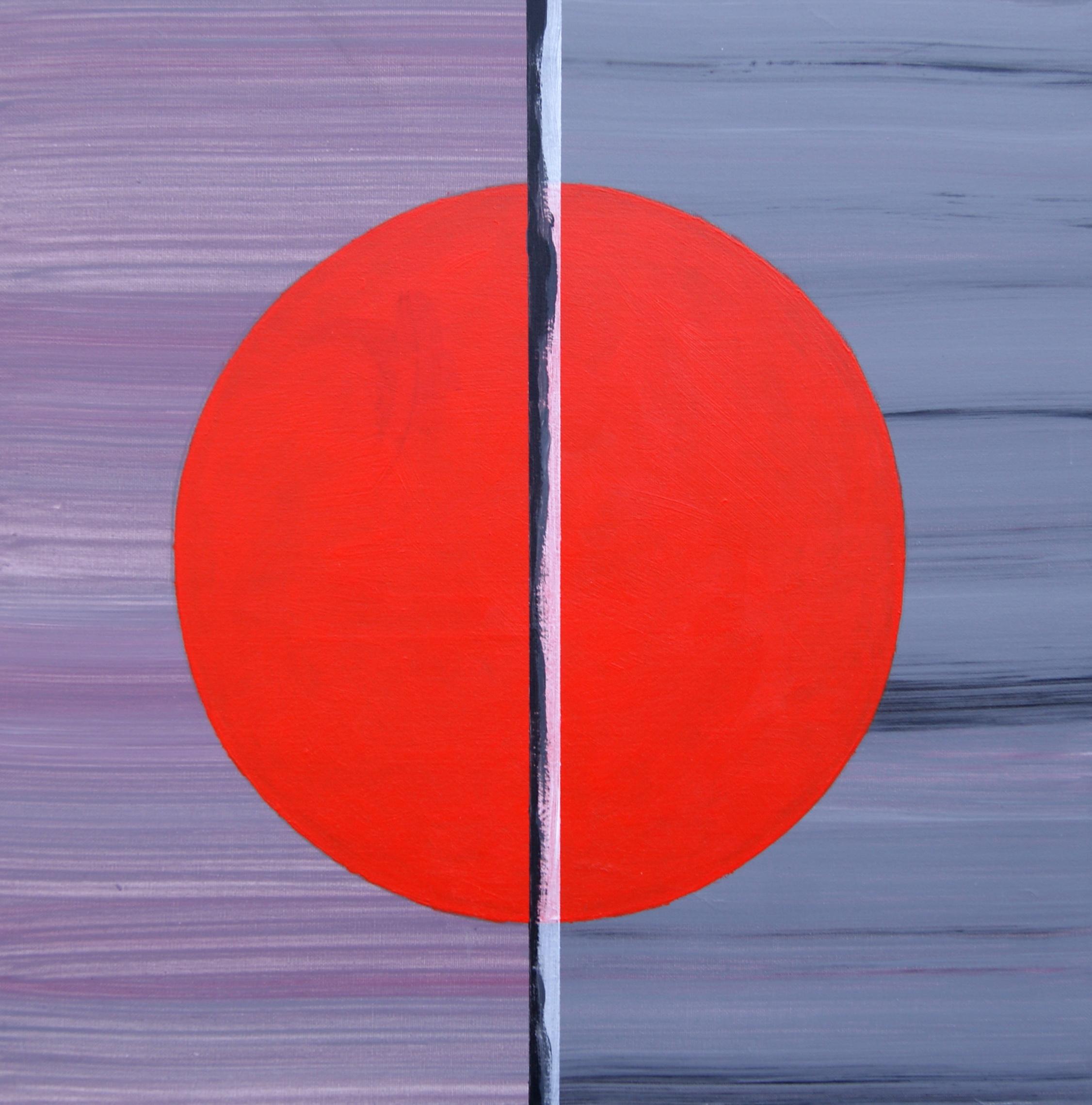 Motief 6b, 2007, 50x50 cm, acryl op katoen